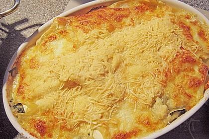 Spinat - Feta - Lasagne 3