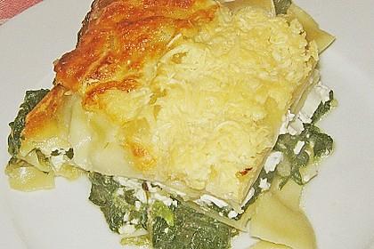 Spinat - Feta - Lasagne 7
