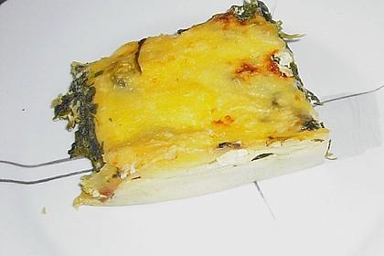 Spinat - Feta - Lasagne 10