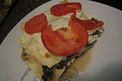 Spinat - Feta - Lasagne 8