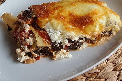 Spinat - Feta - Lasagne 2