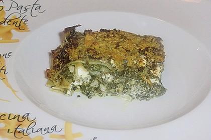 Spinat - Feta - Lasagne 17