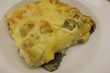 Spinat - Feta - Lasagne 12