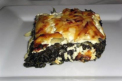 Spinat - Feta - Lasagne 1