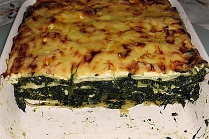 Spinat - Feta - Lasagne 6