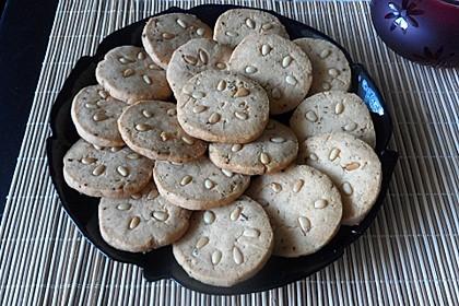 Knusprige Käse - Kekse (Bild)