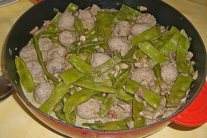 Bohnen - Champignongemüse 12