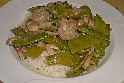 Bohnen - Champignongemüse 10