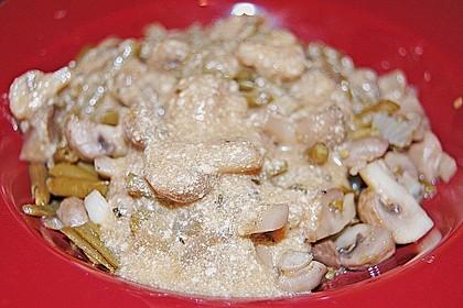 Bohnen - Champignongemüse 19