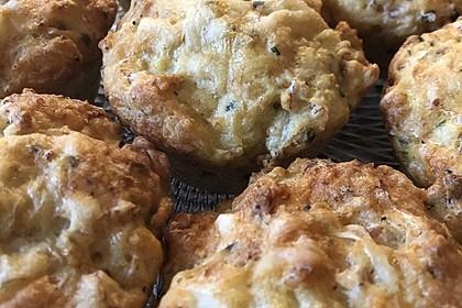 Herzhafte Schinken-Käse-Muffins (Bild)