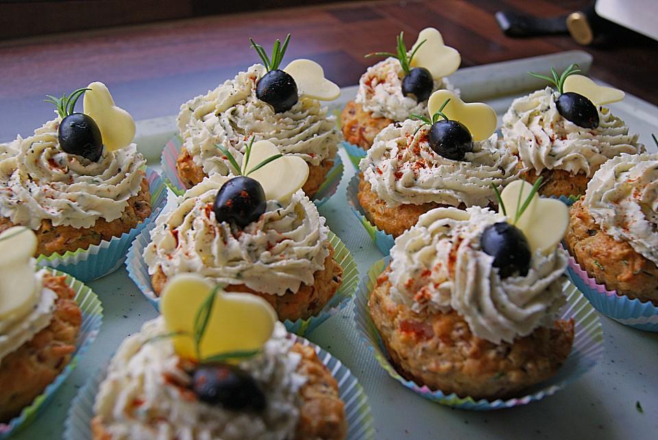 Rezept Herzhafte Cupcakes Kuchen Bild Idee
