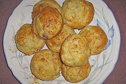 Pizza - Muffins (Bild)