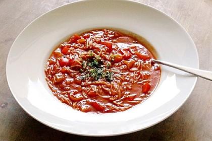 Paprika - Tomaten - Suppe (Bild)