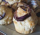 Zwiebelmuffins mit Ziegenkäse (Bild)