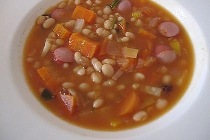 Astrids schnelle Bohnensuppe 2