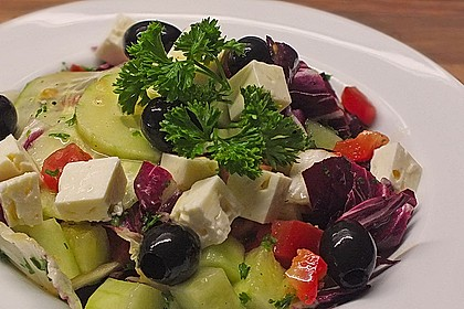 Türkischer Hirtensalat 1