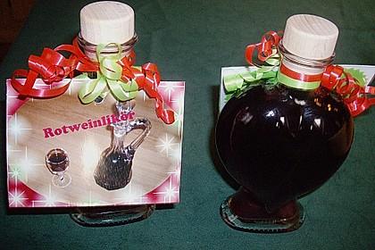 Rotweinlikör 10