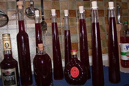Rotweinlikör 5