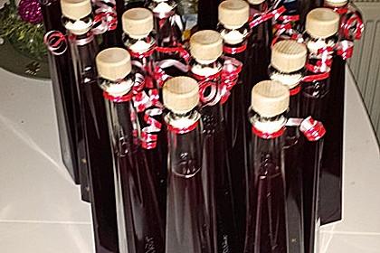 Rotweinlikör 1