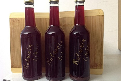Rotweinlikör 3