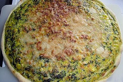 Gemüse - Quark - Quiche