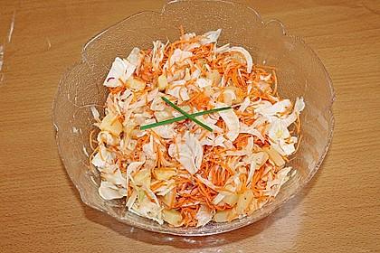 Fenchel - Ananas - Möhren - Salat 3