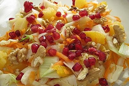 Fenchel - Ananas - Möhren - Salat