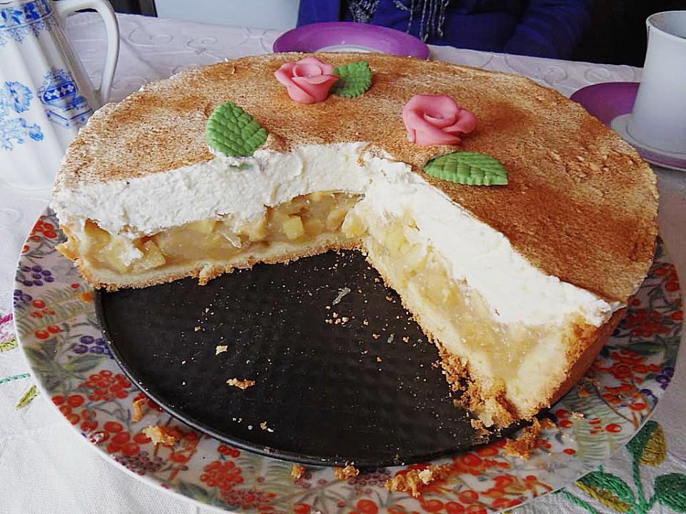 Apfel Sahne Torte Von Edith1 Chefkoch De