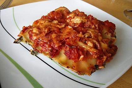 Spinat - Lasagne, würzig 2