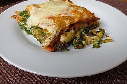 Spinat - Lasagne, würzig