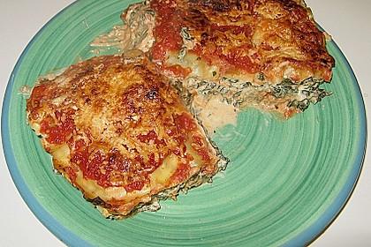 Spinat - Lasagne, würzig 1