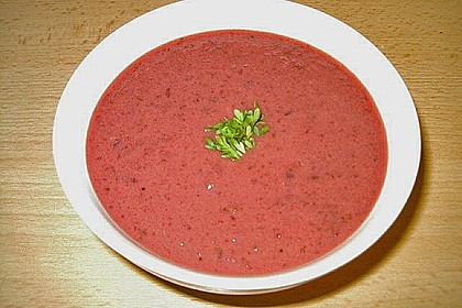 Rote - Bete - Suppe