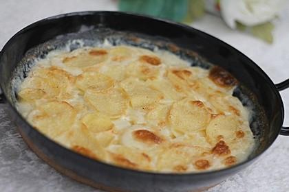 Klassisches Kartoffelgratin 9