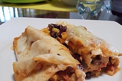 Hühnchen-Enchiladas