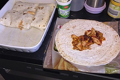 Hühnchen-Enchiladas 25