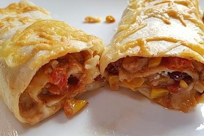 Hühnchen-Enchiladas 6