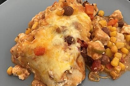 Hühnchen-Enchiladas 21