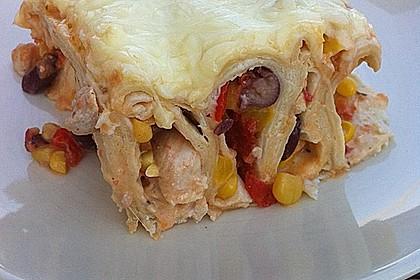Hühnchen-Enchiladas 7