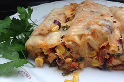 Hühnchen-Enchiladas 2