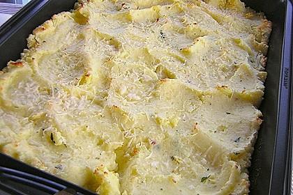 Italienisches Käse - Kartoffelpüree aus dem Ofen 3