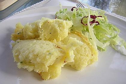 Italienisches Käse - Kartoffelpüree aus dem Ofen 2