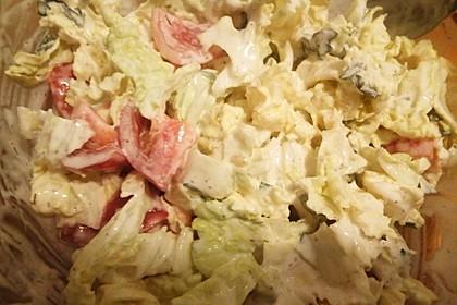 Chinakohl - Salat 6