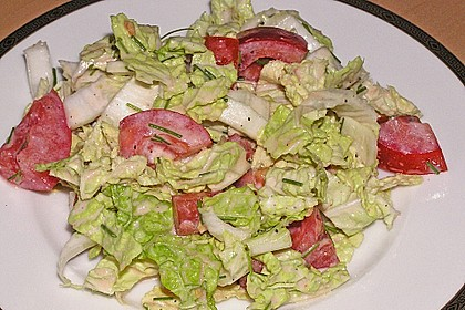 Chinakohl - Salat 9