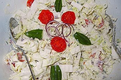 Chinakohl - Salat 11