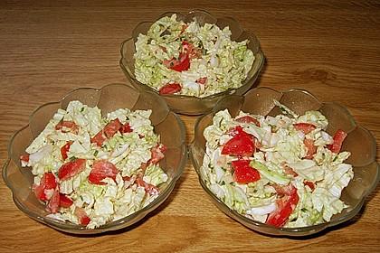 Chinakohl - Salat 18
