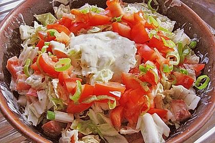Chinakohl - Salat 14