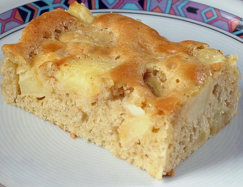 Schneller Apfelkuchen Vom Blech Von Sabbel007 Chefkoch