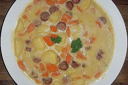 Das Rezept für Kartoffelsuppe 6