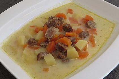 Das Rezept für Kartoffelsuppe 2