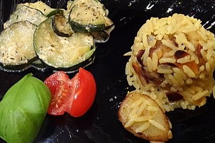 Bananen - Curryreis mit Zucchini 3